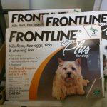 Frontline Dogs 0-22 lb